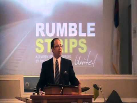 Rumble Strips Sermon Part 1: Pastor Brocc Chavis
