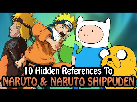 10 References To Naruto & Naruto Shippuden Hidden In Other Works!