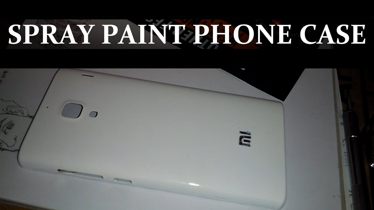 How to diy spray paint phone case youtube for Spray paint phone case