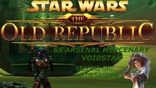 Swtor 4.7 PvP 65 Arsenal Mercenary Voidstar (2nd gig with Sangra)