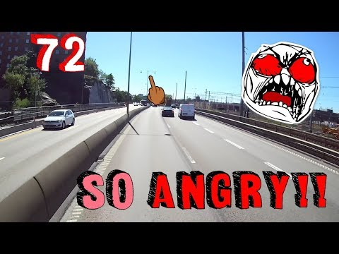 Trucker Dashcam #72 Road Rage And Stressed Drivers!