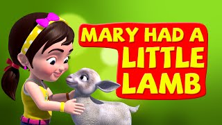 Mary Had A Little Lamb Nursery Rhymes for Children