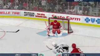 Detroit Red Wings vs.  Pittsburgh Penguins NHL 09 PC Stanley Cup