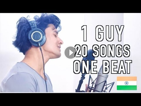 20 Songs VALENTINE Mashup on 1 Beat! (Aksh Baghla)