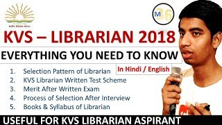 KVS Libratian 2018 - Everything You Need To Know by Mentors 36