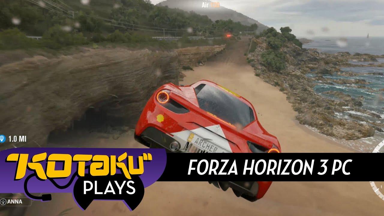 Forza Horizon 3 Runs Fine On PC