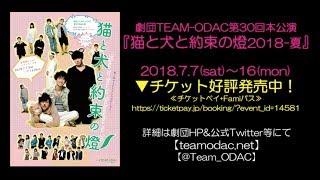 劇団TEAM-ODAC第30回本公演 『猫と犬と約束の燈2018-夏』 【脚本・演出...