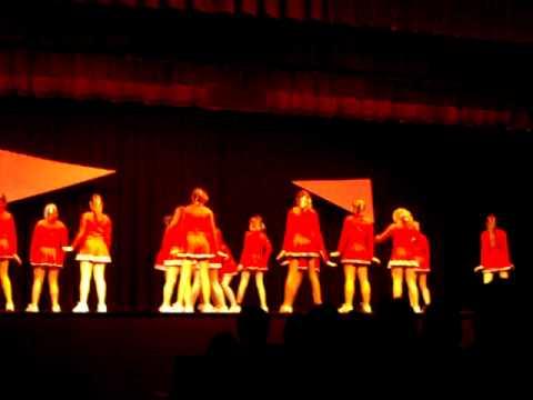 Franklin area middle school cheerleaders