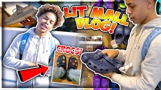 Gambar cover LIT SHOPPING MALL VLOG🔥💰 + BUYING MY FIRST PAIR OF CROCS!😱 || *I THINK I'M IN LOVE*😍