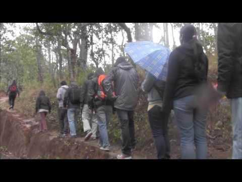 Hiking from Bidur to Nuwakot Durbar