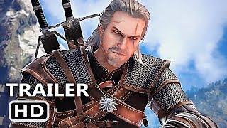 PS4 - Soul Calibur 6 Geralt The Witcher Gameplay Trailer (2018)