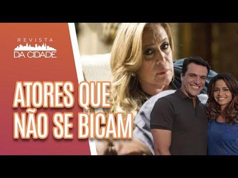 Casais De Novelas Que NÃO SE BICAVAM Na Vida Real - Revista Da Cidade (01/05/18)