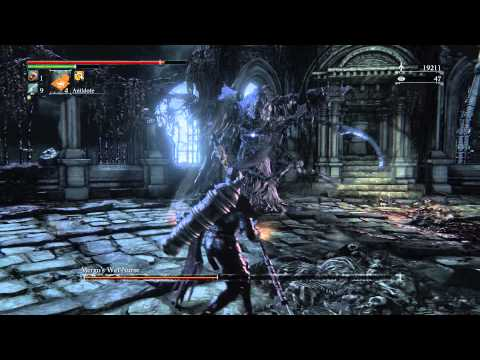 Bloodborne Boss Fight Mergo's Wet Nurse - Nightmare of Mensis