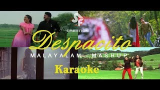 Despacito Malayalam Mashup Karaoke with Lyrics
