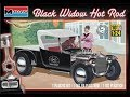 How to Build the Black Widow Hot Rod 1:24 Scale Monogram Model Kit #85-4324 Review