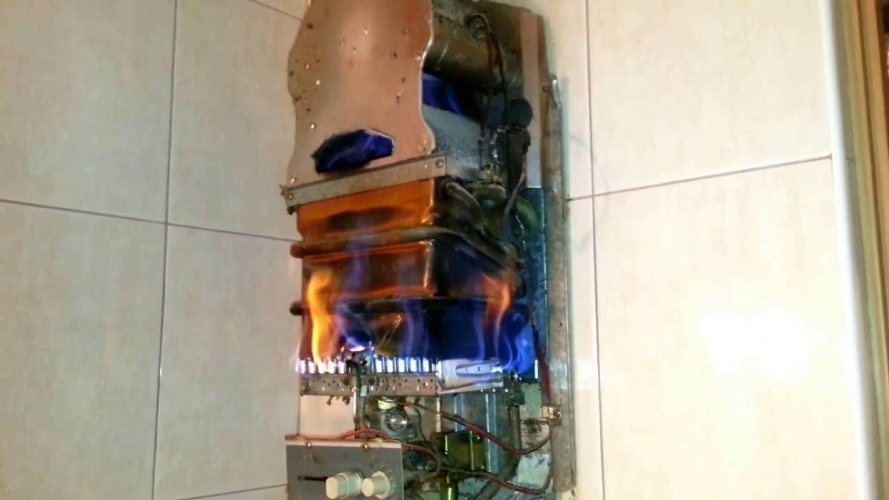 Теплообменник газовая колонка юнкерс неисправности теплообменник fp 09-45-1-e-1 купить