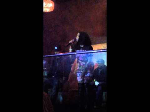 """SAGAN PERFORMING """"I'm Tired"""" @ Cream Ultra Lounge #HUSTLE&FLOW Monday!!!!!"""