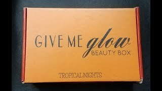 Tropical Nights - Beauty Box from Give me Glow Cosmetics