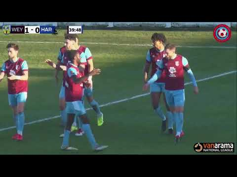 Weymouth Hartlepool Goals And Highlights