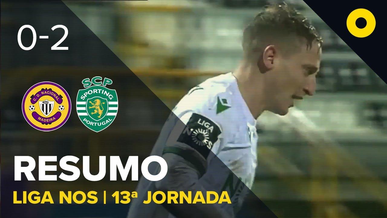 Насьонал  0-2  Спортинг Лиссабон видео