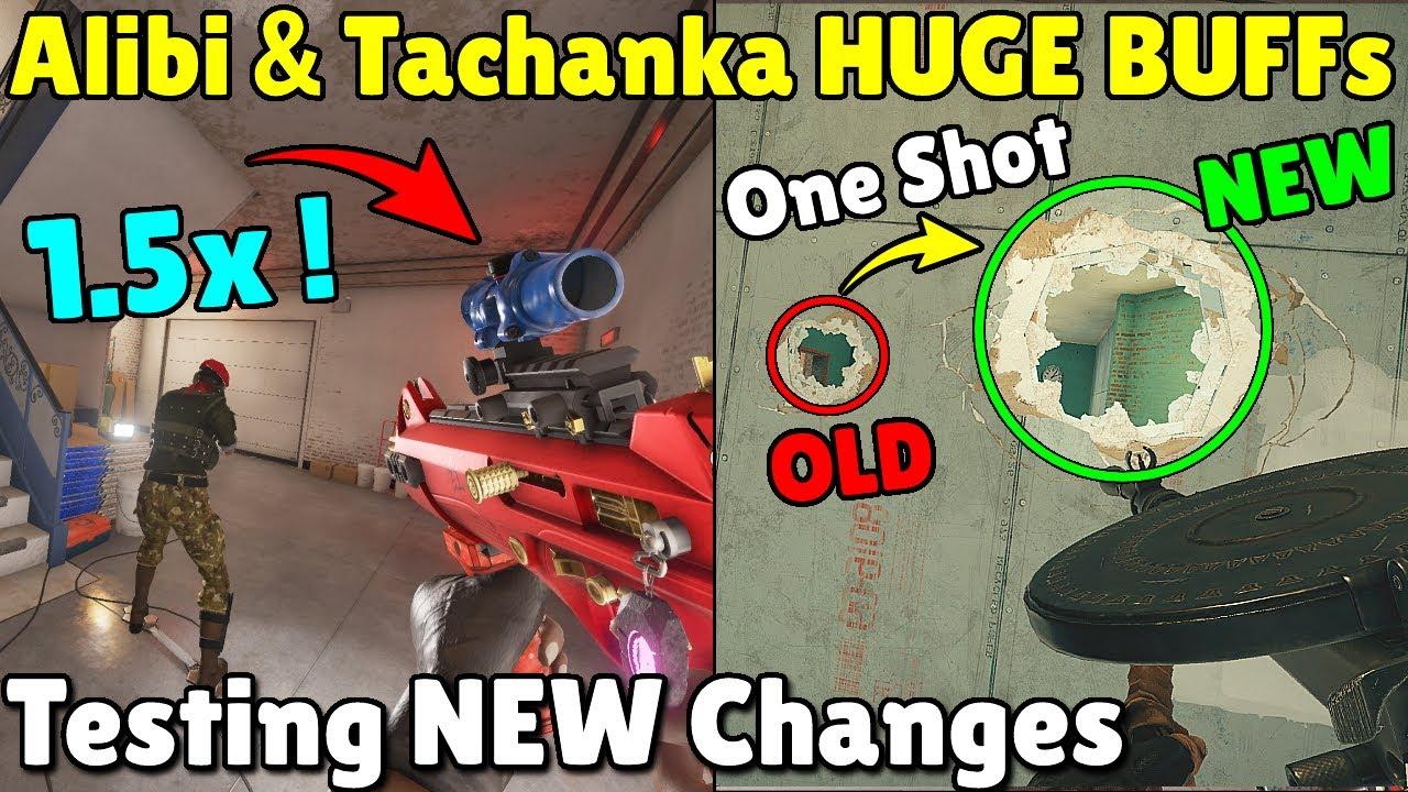 Testing ALL-NEW BUFFs And NERFs | Zofia, Tachanka & Alibi - Rainbow Six Siege
