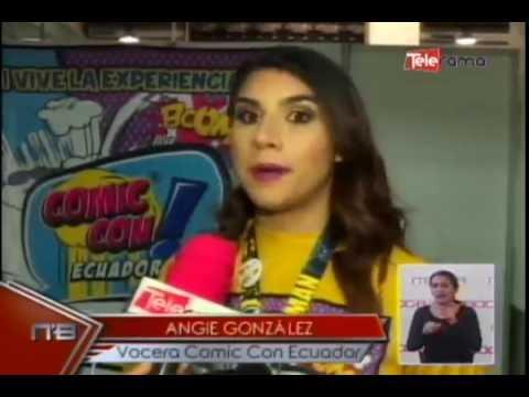 Comic Con Ecuador vive la experiencia