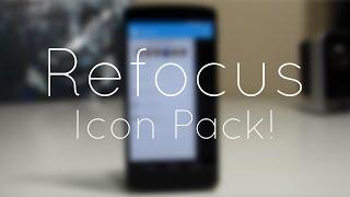 Refocus Icon Pack Demo!