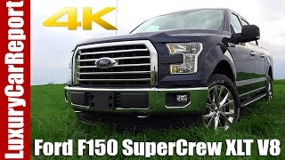 2017 Ford F150 SuperCrew XLT - Detailed Walkaround, Review and Test drive
