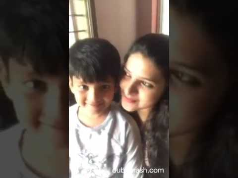 Mom and son funny moments.....