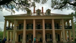 USA КИНО 1141. Луизиана. Невероятная красота плантации Oak Alley Plantation.