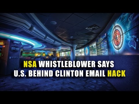 News Shot: NSA Whistleblower Says U.S. Behind Clinton Email Hack