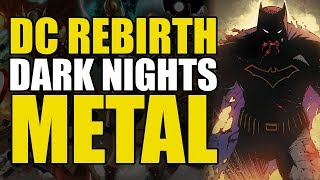 Dark Nights Metal Part 1: Rise Of The Dark Multiverse!