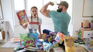 10,000 CALORIE (MUKBANG) JUNK FOOD CHALLENGE w/LaurDIY