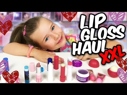 LULU neuer Lipgloss ❤️  Beauty HAUL XXL mit Lulu & Leon - Family and Fun