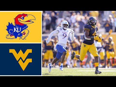 Kansas vs West Virginia Highlights   Week 7 2020 College Football Highlights