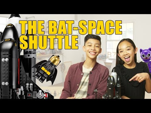 LEGO Batman Movie: The Bat Space Shuttle Unboxing- The Build Zone