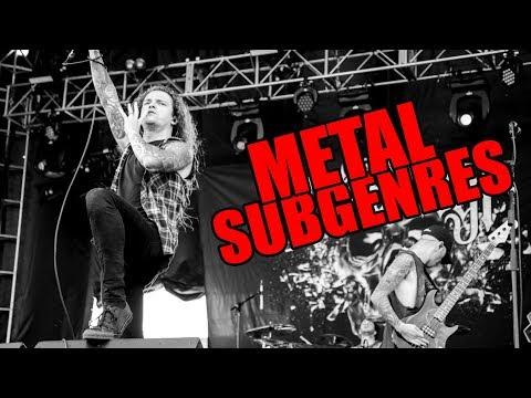 The Top 8 Metal Sub Genres Of All Time Metal Guitar Riffs