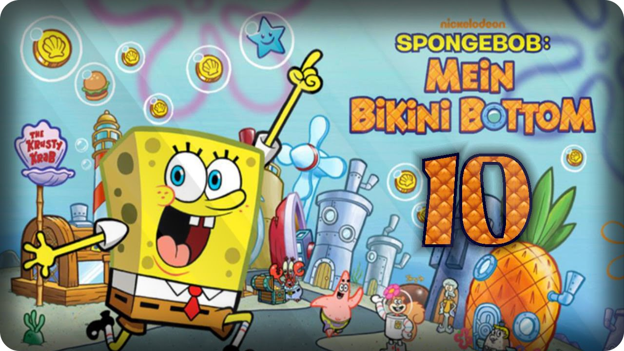 spongebob mein bikini bottom app
