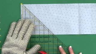 Sew Easy: Cutting Setting Triangles