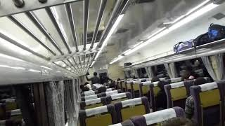 189系臨時特急あずさ80号  新宿到着前車内放送(鉄道唱歌オルゴール)