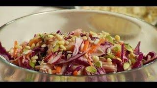Салат по польски из капусты рецепт