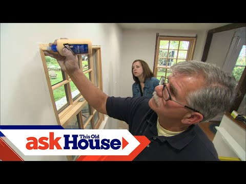Andersen Kitchen Windows Stove Fan How To Install Interior Window Trim - Youtube