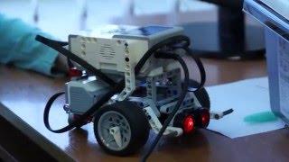 До чего дошел прогресс ... В МБОУ СОШ № 3 прошли соревнования роботов