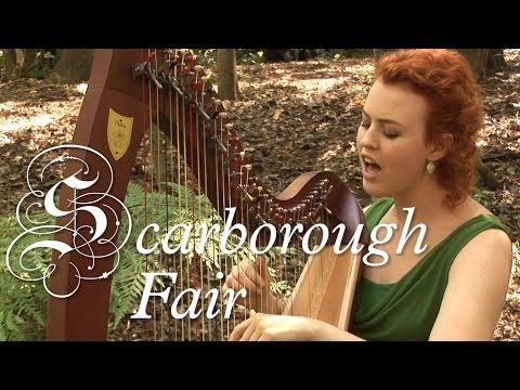 Scarborough Fair - HARP / VOICE (Christy-Lyn)