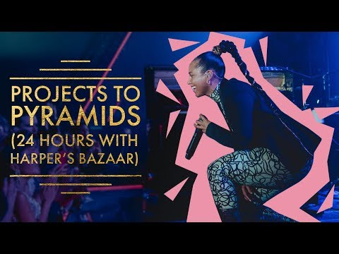 Alicia Keys Shows Us How She Prepped For BAZAAR ICONS