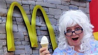 McDonalds Challenge Happy Meal Big Mac Buttermilk Chicken Tenders Granny