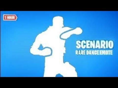 🔴פורטנייט ריקוד הסקנריו | Fortnite Scenario Emote🔴