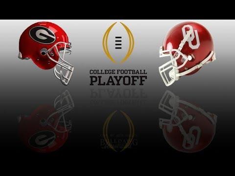2018 College Football Playoff Simulation - Georgia ...