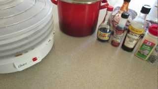 Deer Jerky Recipe And Processing