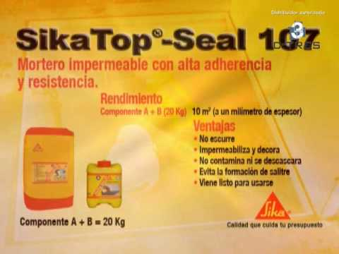 Ficha t cnica sikatop seal 107 en monterrey ctres - Sikatop seal 107 ...
